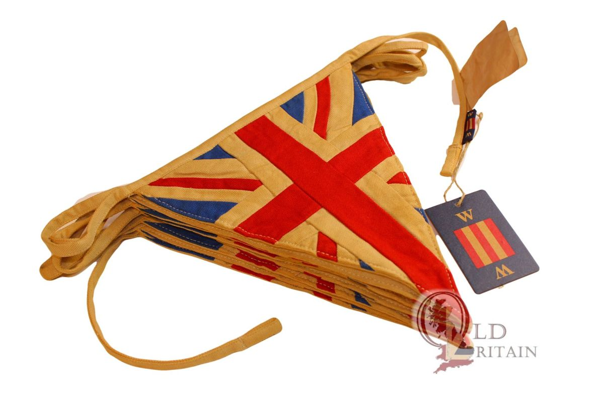 nautical Union Jack bunting