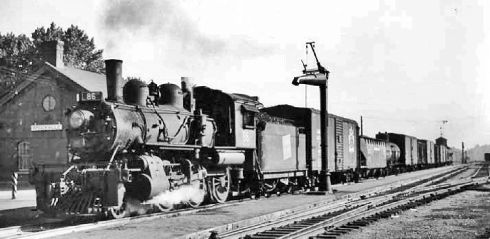 Railway Photographs taken in Brockville - Part 1 (6/6)