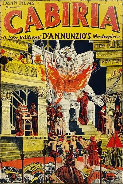 włoskie filmy - Cabiria