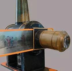 Historia kina - latarnia magiczna