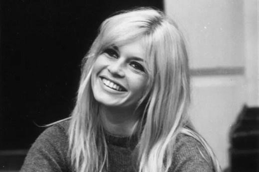 Top aktorki francuskie - Brigitte Bardot