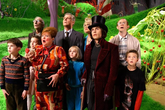 Bajki Tima Burtona - Charlie i fabryka czekolady