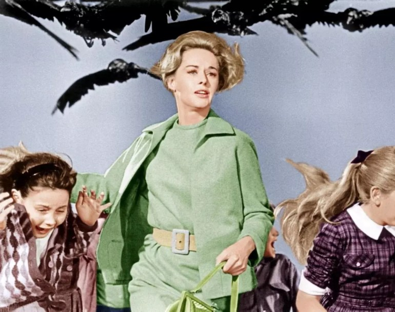 Filmy Alfreda Hitchcocka - Ptaki