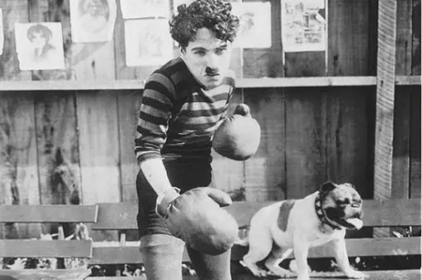 Chaplin komedie - Charlie bokserem