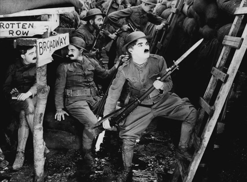 Filmy z Chaplinem - Charlie żołnierzem