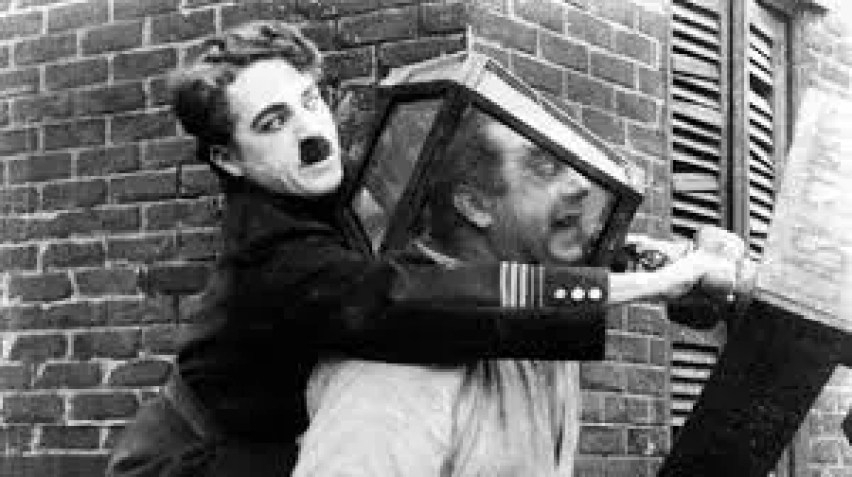 Komedie Chaplina - Spokojna ulica