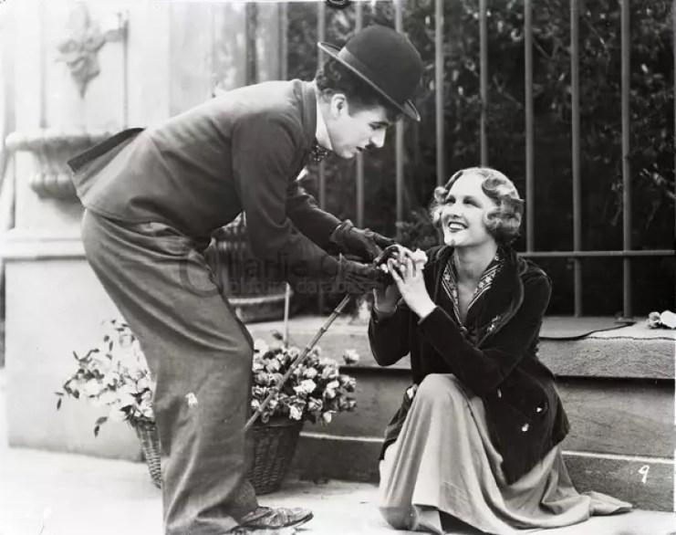 Charlie Chaplin filmy - Światła wielkiego miasta