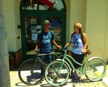 """Nearby, at Old Capitol Books (formerly the Book Haven), you'll want to stop in and chat with the owner about books–and bikes! Why? Because owner Matthew Sundt is an avid cyclist and bike advocate, including serving as board president of Velo Club Monterey."""