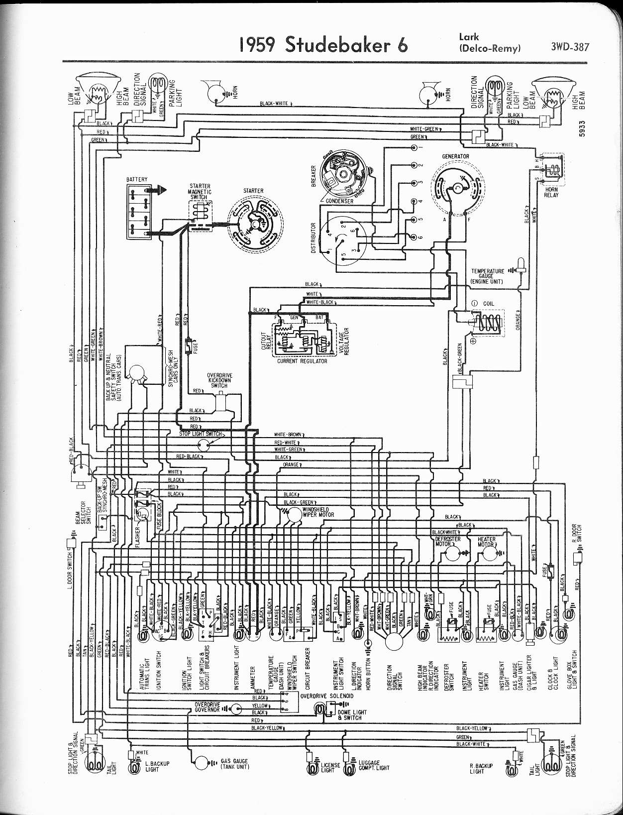 Delco Farmall Wiring Diagram 63