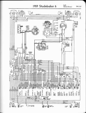 Studebaker wiring diagrams  The Old Car Manual Project
