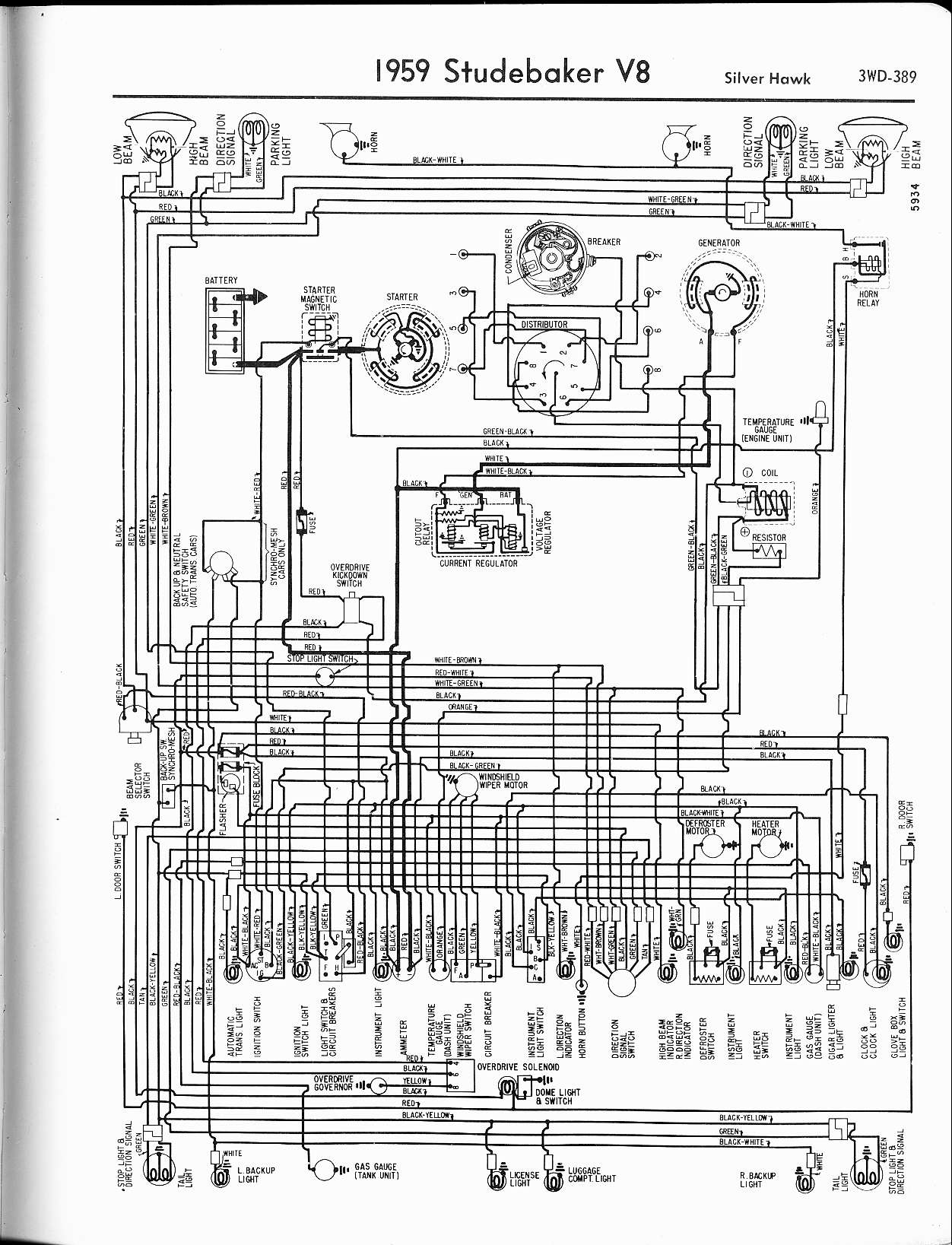 Studebaker Engine Diagram