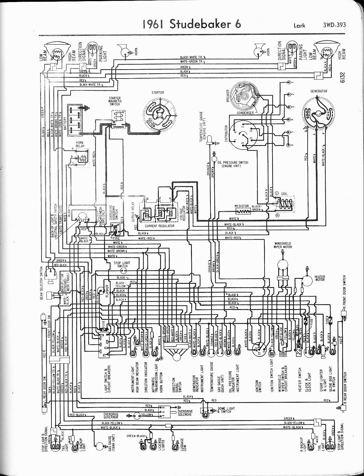 Wiring Manual Studebaker Wiring Diagram