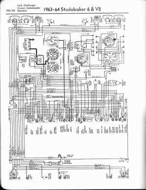 Studebaker wiring diagrams  The Old Car Manual Project
