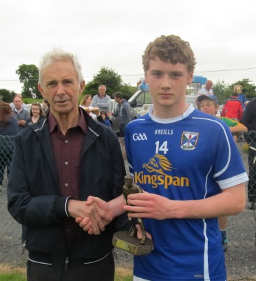 Seanie Keoghan Man of match Cavan v Meath