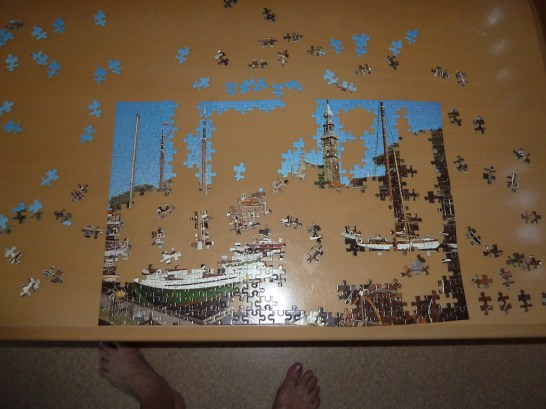 Started the jigsaw