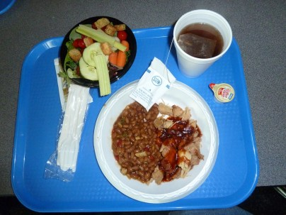 space camp food