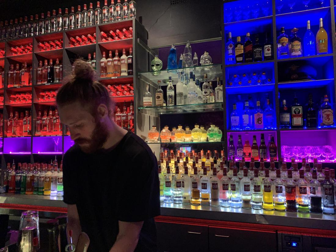 Small Bars In Wollongong - red Square