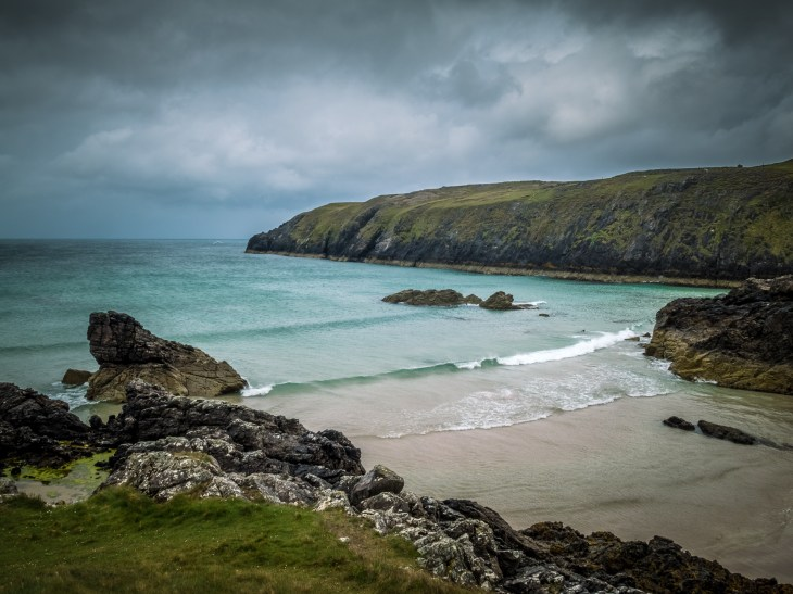 Durness Beach - The Rock Route