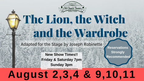 facebook cover The Lion, the Witch and the Wardrobe
