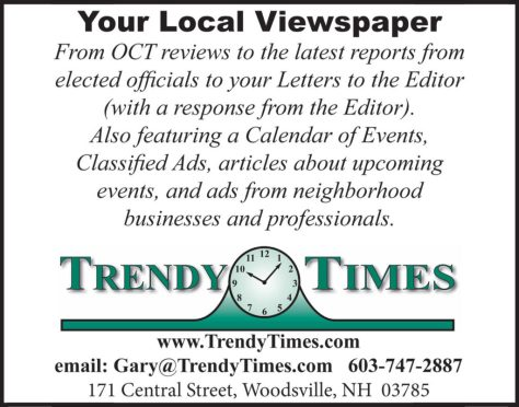 Ad image for Trendy Times on 171 Central Street in Woodsville, NH 03785