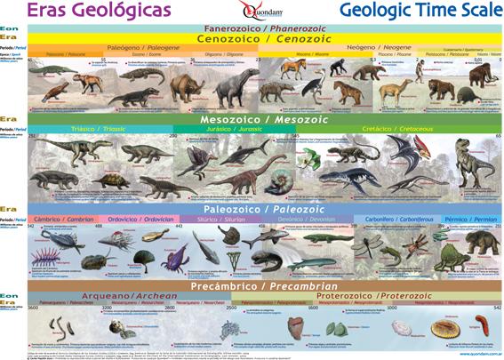 Grandes extinciones en la historia de la Tierra  - ¿Por qué se extinguieron los dinosaurios y otras especies? 1/2 (2/6)