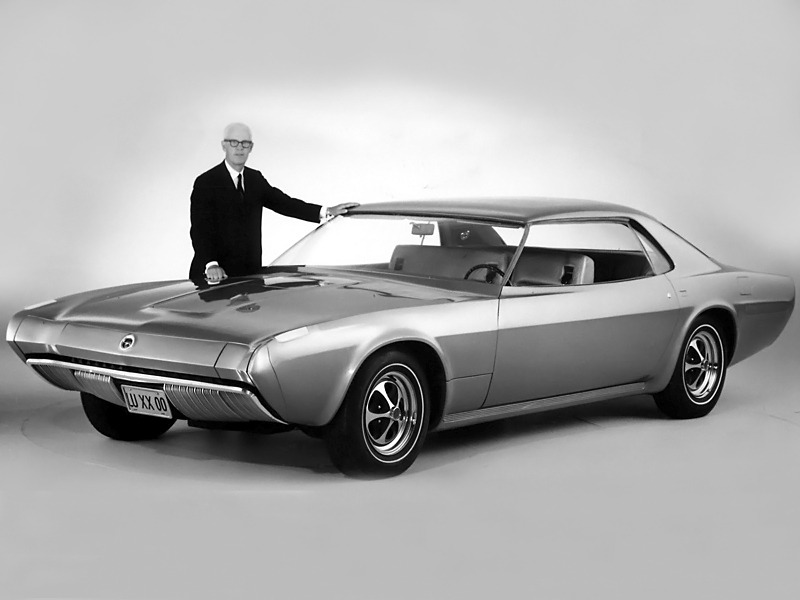 Ford Techna Concept  1968      Old Concept Cars ford techna concept 1