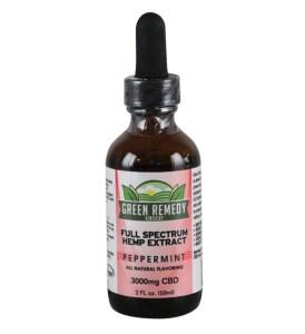 Green Remedy Hemp Extract 3000 mg - Peppermint