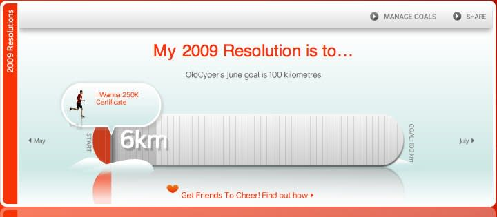 nike 2009 resolutions