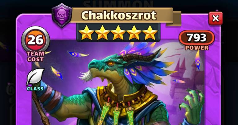 How Good is Chakkoszrot? Empires and Puzzles HotM Review
