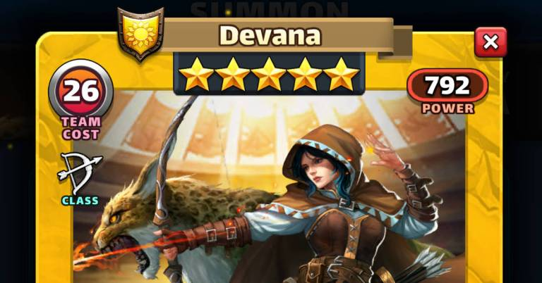 How Good is Devana? Empires and Puzzles July 21 HotM Review