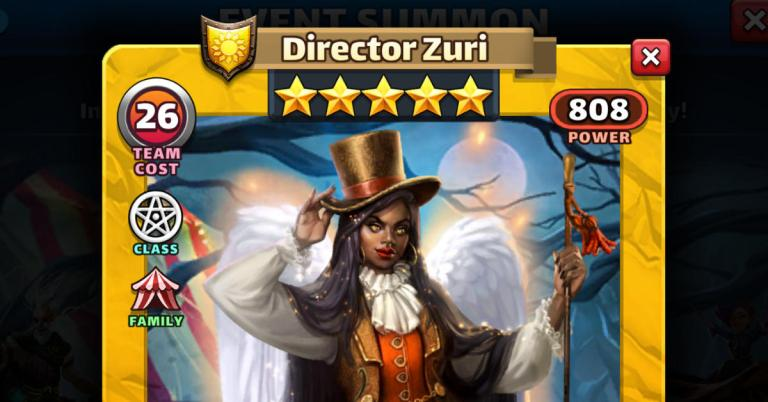 How Good is Director Zuri? Empires and Puzzles Starfall Review