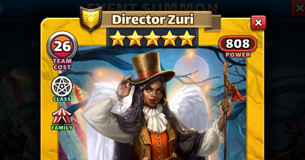 Director Zuri Empires and Puzzles