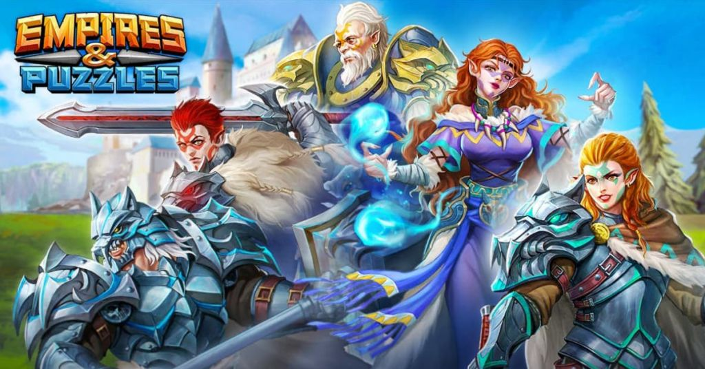 Clash Of Knights Review Empires and Puzzles Poster