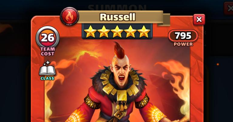 How Good is Russell? Empires and Puzzles HotM Review