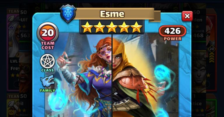 Esme via The Dawa Blessing? Empires and Puzzles Review