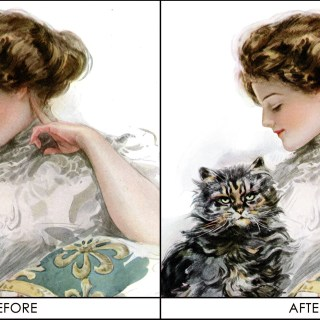 Before and After (and why I love Photoshop!)