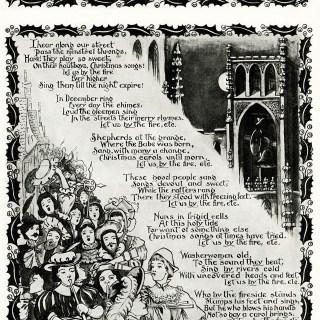 A French Noel Vintage Christmas Poem