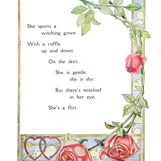 She's a Flirt by Harrison Fisher