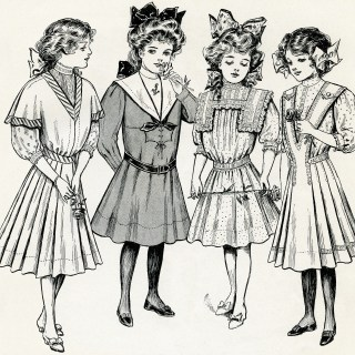 Fashion for Girls and Women Spring 1908