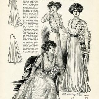 Fashion for Ladies Spring 1909