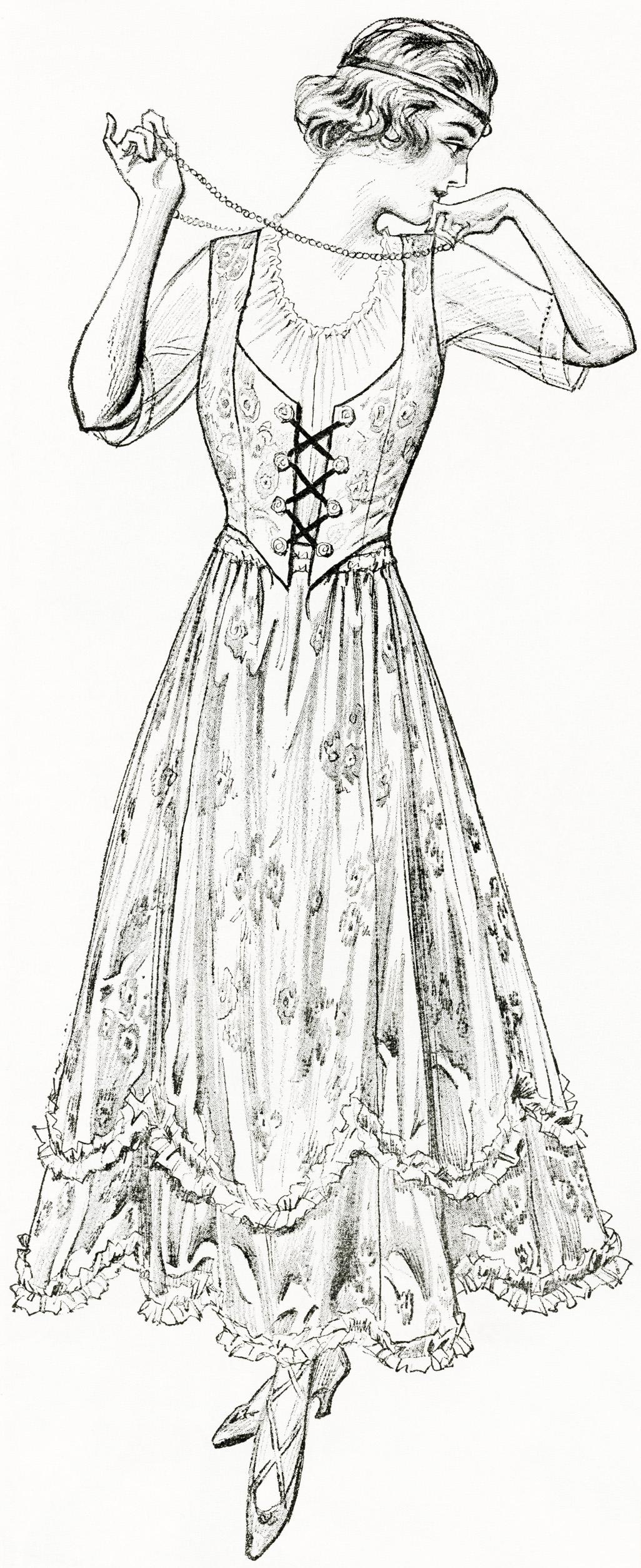 Free Digital Image New Summer Dress For