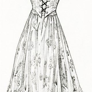 Free Digital Image ~ New Summer Dress for 1915