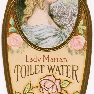 Lady Marian Toilet Water Label