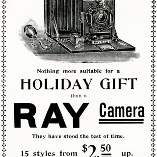 Ray Camera Vintage Magazine Advertisement