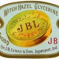 free vintage image, witch hazel label, glycerine soap vintage label, lynas & son, soap label clipart, antique soap label graphic, free printable label