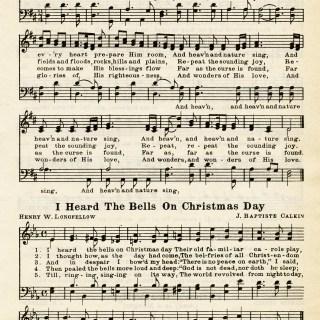 Free Vintage Image ~ Christmas Hymns