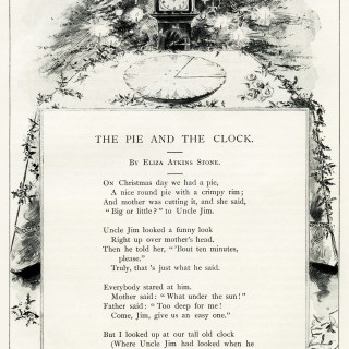 Christmas Poem by Eliza Atkins Stone