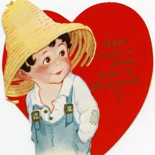 Free Vintage Image ~ Cute Valentine Feller
