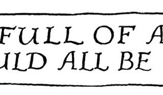 Free Vintage Image ~ Quaint Banner and Stevenson Quote