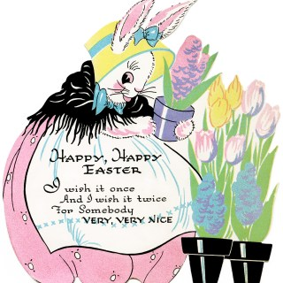 Free Vintage Image ~ Easter Bunny Clipart